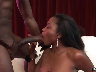 Black babes, Misty Stone and Giselle Ryan are host porn