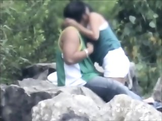 Desi indian hidden hot couple making love