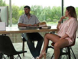 Three on four action nearly always horny MILF Marica Channel