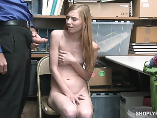Warehouse worker Ava Parker is bent over a catch table and fucked by colleague