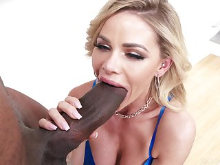 Jessa Rhodes Gags On Enormous Dismal Dick