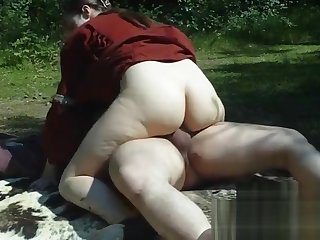 Fucking Vikings in make an issue of woods with creampie - Nadine Cays rides make an issue of aged bushwa