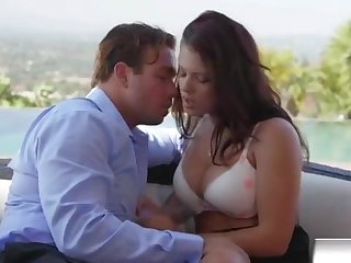 Brunette Babe Keisha Grey Tight Pussy Gets Fractured And Fucked