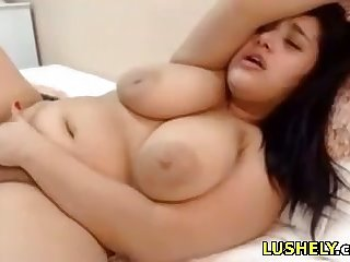 chubby stepsister loves say no to lovense toy increased by sucks dildo