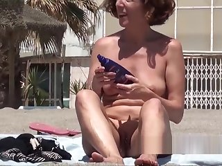 Visible Tampon Pussy Sequence Nudist Beach Hot Ass Lady Spycam