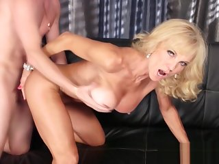 Mature Blonde Ravished Away from A Stud