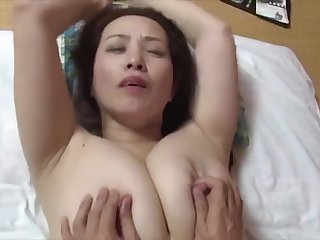 japanese simmering big boobs step mummy