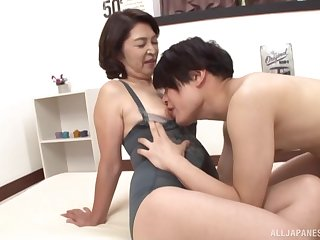 Mature from Tokyo, first seniority obtaining laid with say no to nephew