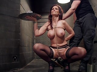 Obese tits adult slave gets bdsm training