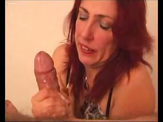 Hot milf making cum a big dick with the addition of clean everything