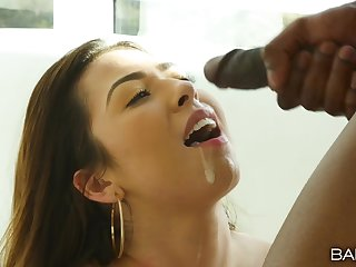Hardcore fucking in the hotel room with cock hungry Melissa Moore